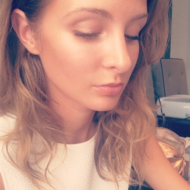 Millie Mackintosh shows off her sunkissed make-up look in an Instagram selfie - 21 July 2014