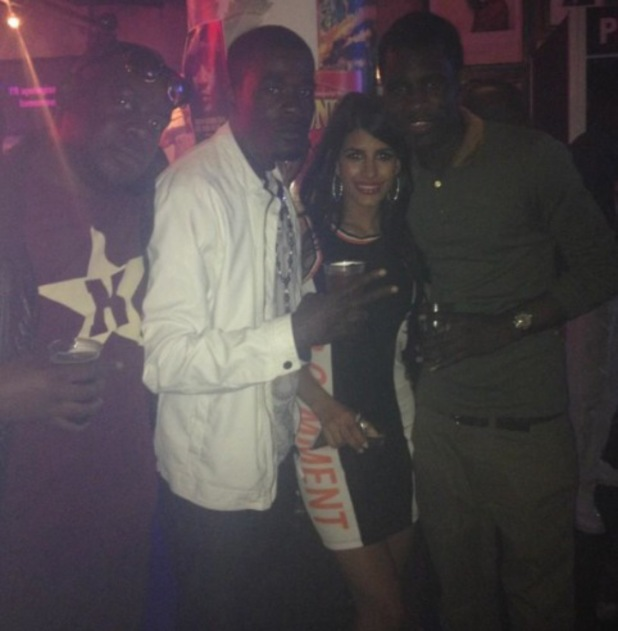 Jasmin Walia hangs out with Wretch 32 at Adidas party - 24 July 2014