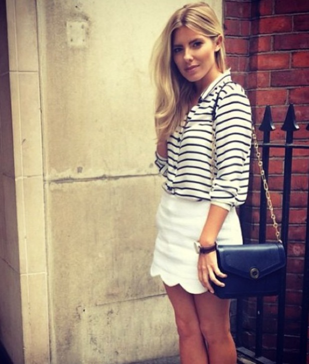 Mollie King Instagram picture, 22 July, 2014.