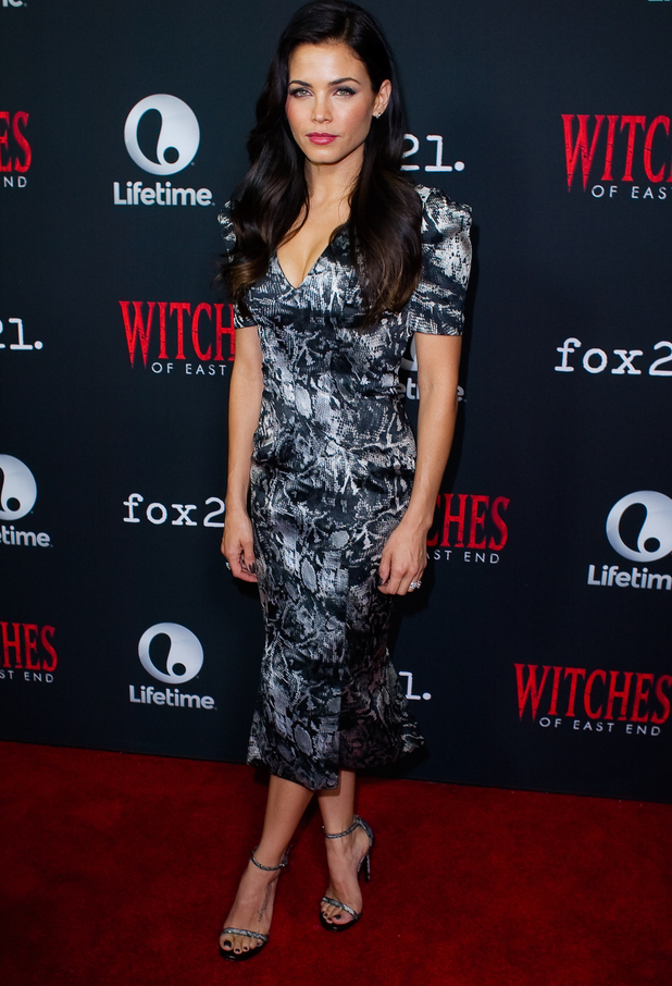 Jenna Dewan-Tatum attends the premiere of season two of Witches of East End at Comin-Con in San Diego, America - 24 July 2014
