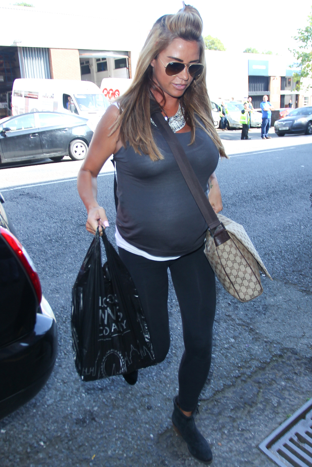 Katie Price arrives at Fubar Radio - 22 July 2014