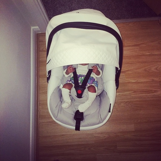Danni Park Dempsey shares new picture of her baby daughter, 25 July 2014