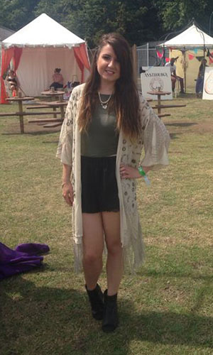 Fashion assistant at Lovebox festival