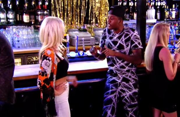 TOWIE: Danielle Armstrong and Vas J. Morgan argue, episode 20 July 2014
