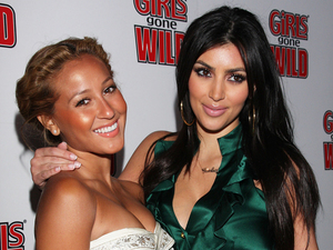 Kim Kardashian hits back at Rob's ex-girlfriend Adrienne Bailon
