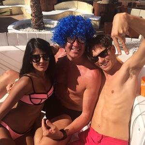 Jasmin Walia joins Joey Essex in Ibiza on his birthday, Instagram 29 July