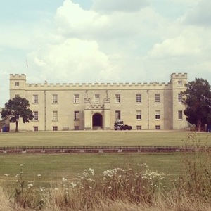 Danielle O'Hara, nee Lloyd, shares a picture of Syon Park, where they got married, 26 July 2014