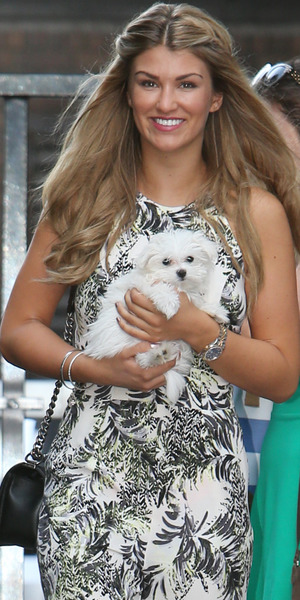 Amy Willerton on Lorraine, ITV, Southbank, London 31 July