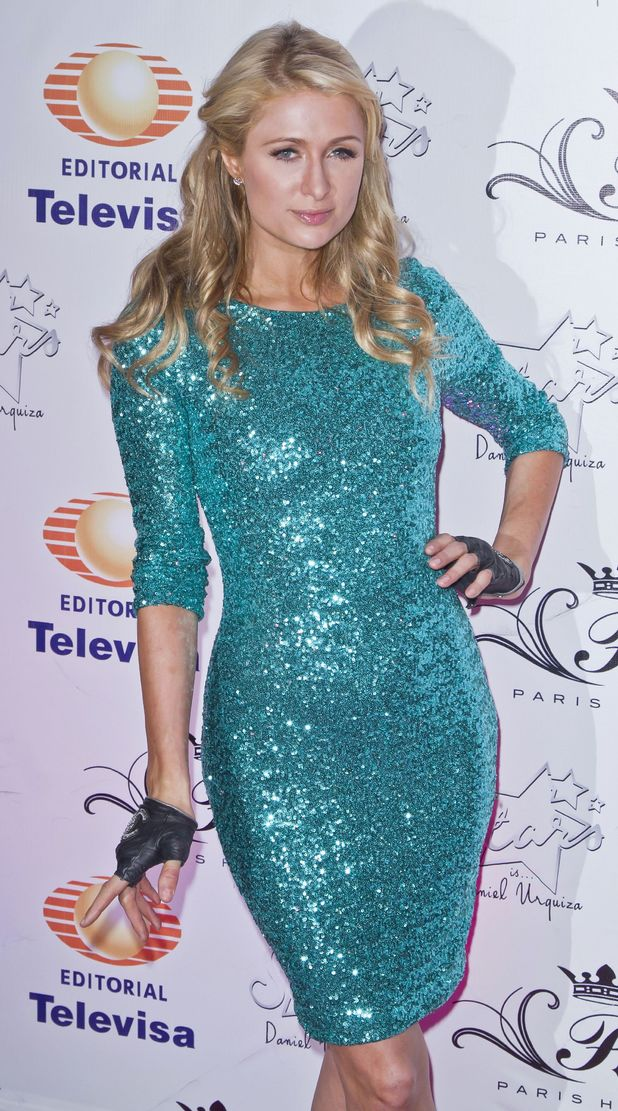 Paris Hilton attends a party marking the 15th Anniversary of beauty salon 'Stars' in Mexico City, Mexico - 24 July 2014