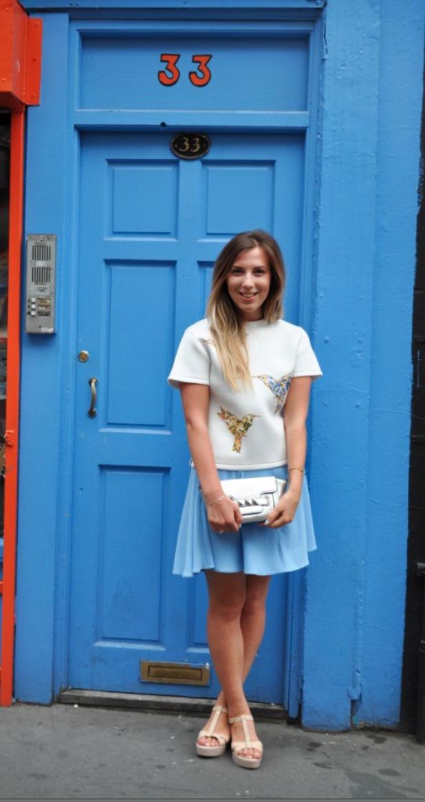 Sarah-Rose Harrison, Reveals Steals photo, 28th July 2014