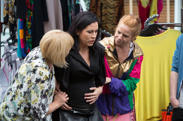 EastEnders, Kat in labour? Mon 4 Aug