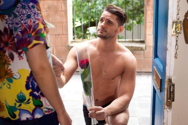 Hollyoaks, Ziggy proposes, Fri 1 Aug