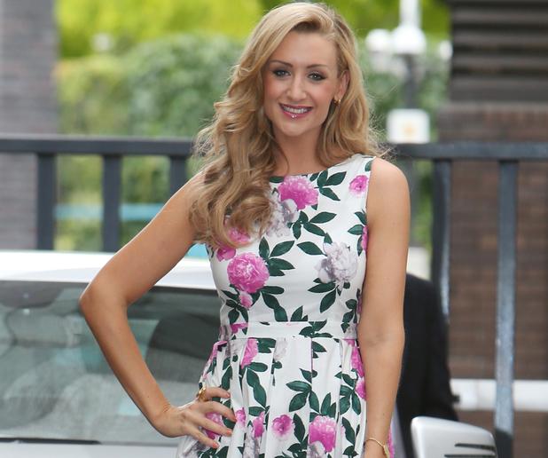 Catherine Tyldesley, ITV studios, Southbank, London 30 July