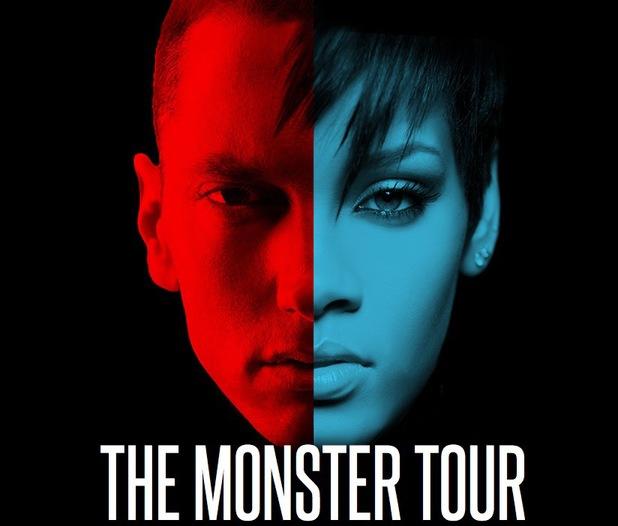 Eminem and Rihanna 'Monster' Tour promo shot 30 July