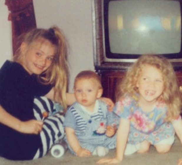 Chloe Sims shared childhood photo of herself, Joey Essex and Frankie Essex, Instagram 29 July