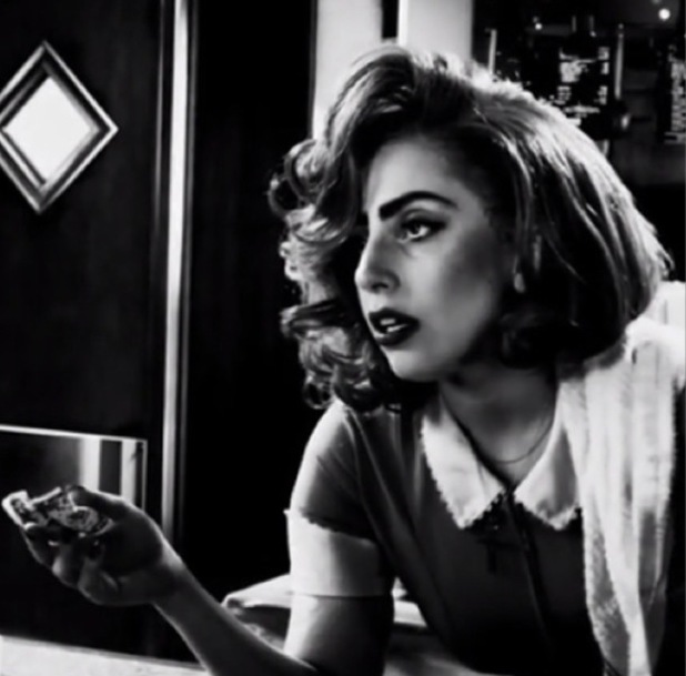 Lady Gaga teases new film role in Sin City: A Dame to Kill For (28 July).