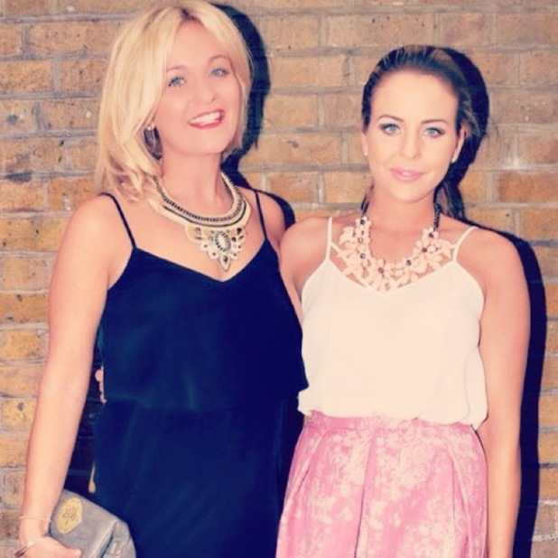 TOWIE's Lydia Bright and sister Georgia attend truTV launch - 31 July 2014