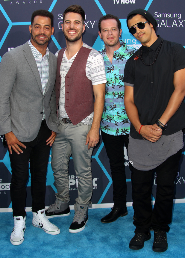 O-Town at the 2014 Young Hollywood Awards held at The Wiltern - Arrivals 07/27/2014 Los Angeles, California, United States