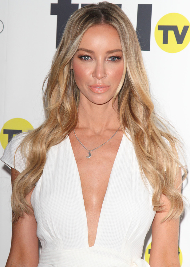 Lauren Pope attends the truTV launch party in London, England - 31 July 2014