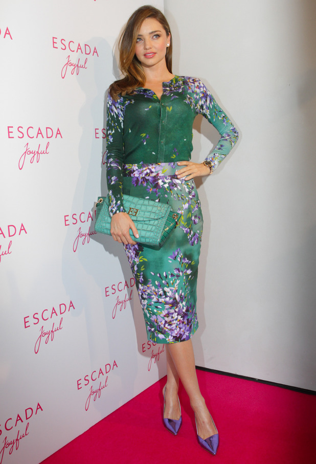Miranda Kerr attends the Escada Joyful Roadshow in Munich, Germany - 29 July 2014