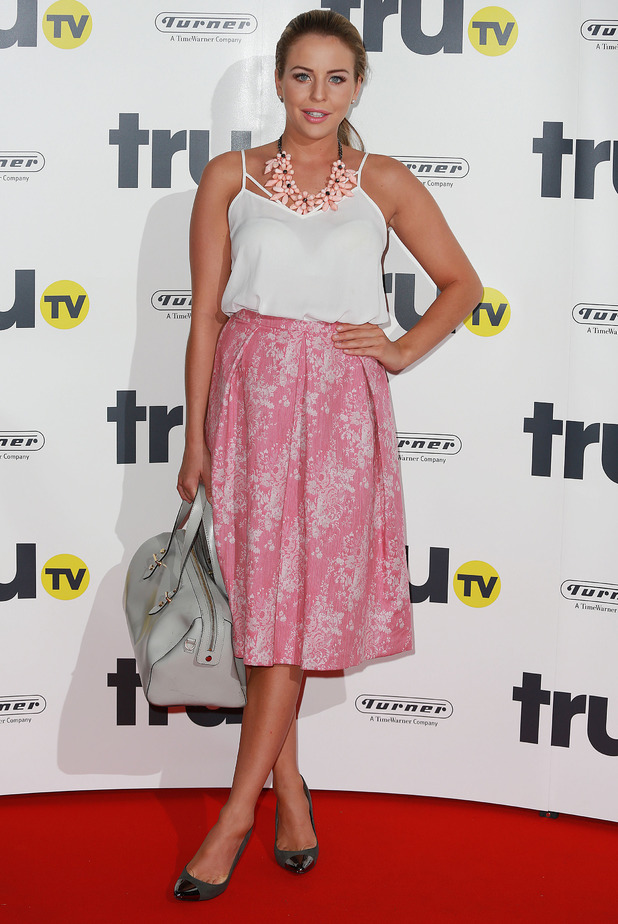 Lydia Bright attends the truTV launch party in London, England - 31 July 2014