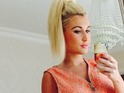 Billie Faiers posts wardrobe selfie, 24 July 2014.