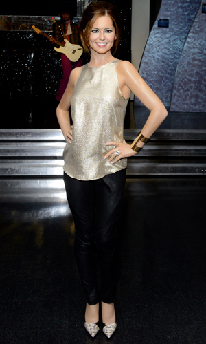 Madame Tussauds unveil updated Cheryl Fernandez-Versini wax figure, London, Britain - 29 Jul 2014
