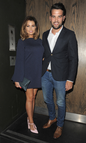 Jessica Wright and Ricky Rayment at The Only Way Is Essex Wrap Party, held at Century Club, 30 July 2014