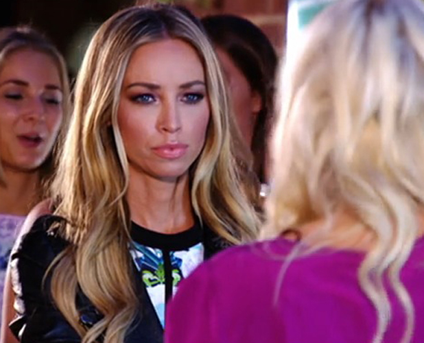 TOWIE's Danielle Armstrong and Lauren Pope row, episode 27 July 2014