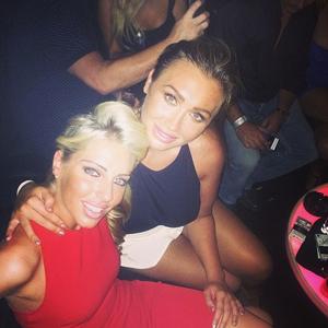 Lauren Goodger parties in Dubai after sex tape allegation emerges, 30 July 2014