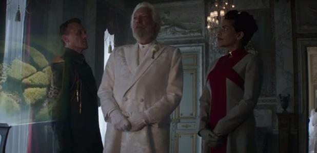 The Hunger Games: Mockingjay - Part 1 trailer - Donald Sutherland