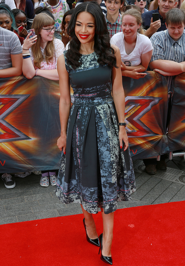 Sarah-Jayne Crawford at X Factor London Auditions at Wembley Arena, 1 August 2014