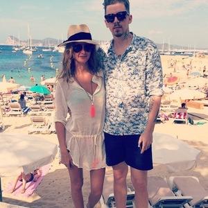 Millie Mackintosh and Professor Green, Ibiza 1 August