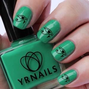 YRNails Nail Decals in Eye of Horus