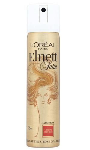 L'Oreal Paris Elnett Satin Hairspray Normal Strength, £6.60