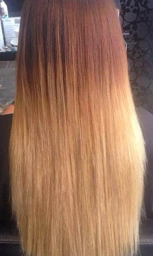 Former TOWIE star Maria Fowler shows off new ombre hair extensions - 6 August 2014