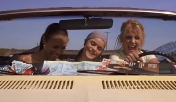 Zoe Saldana, Britney Spears and Taryn Manning star in Crossroads 2002