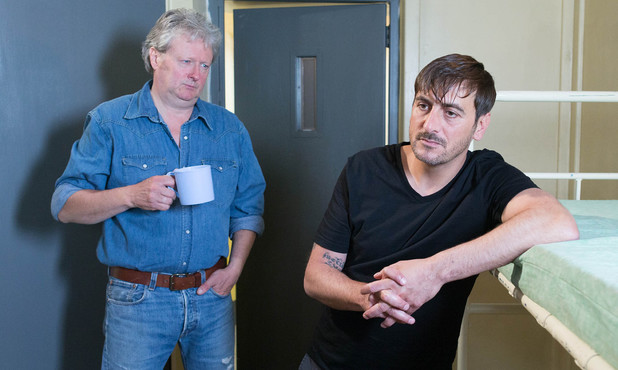 Corrie, Peter meets Jim in prison, Fri 8 Aug