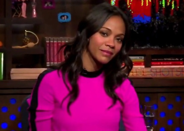 Zoe Saldana appears on Watch What Happens Live and defends Britney Spears - 5 August 2014
