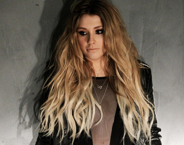 Ella Henderson behind-the-scenes shots from 'Glow' music video. 8 August.