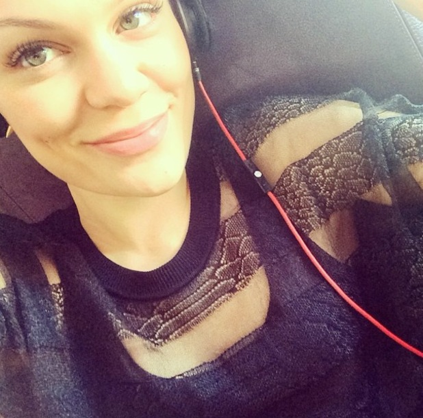 Jessie J heads back to the UK from US, Instagram 6 August