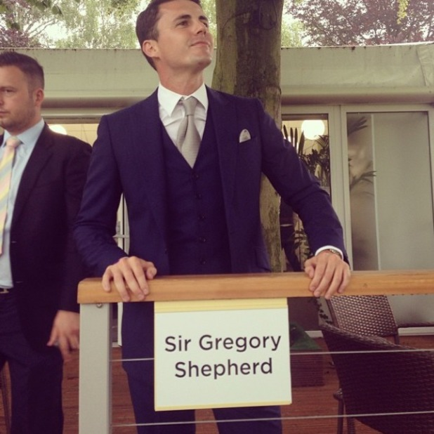 Billie Faiers shares snap of husband to be Greg, 9.8.14