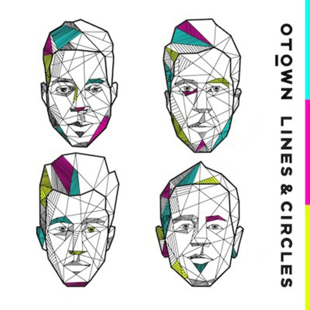 O-Town Lines & Circles album cover art - to be released on 25 August.