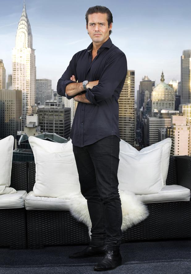 Made In Chelsea's Spencer Matthews in New York promo shot - 6 August 2014.