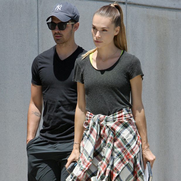 Joe Jonas and Blanda Eggenschwiler out and about in Los Angeles, 7 July 2014