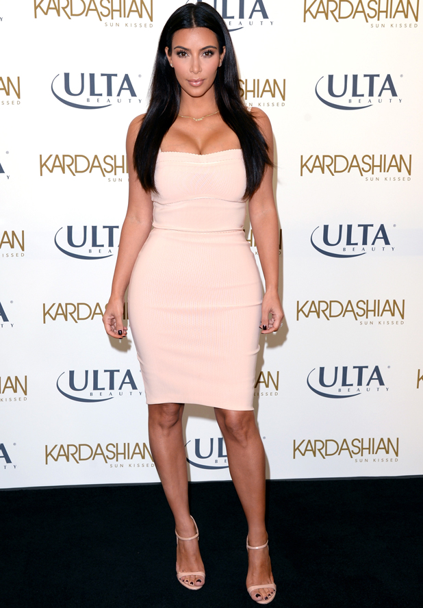 Kim Kardashian Promotes Kardashian Sun Kissed At ULTA Beauty In Los Angeles, 6 August 2014
