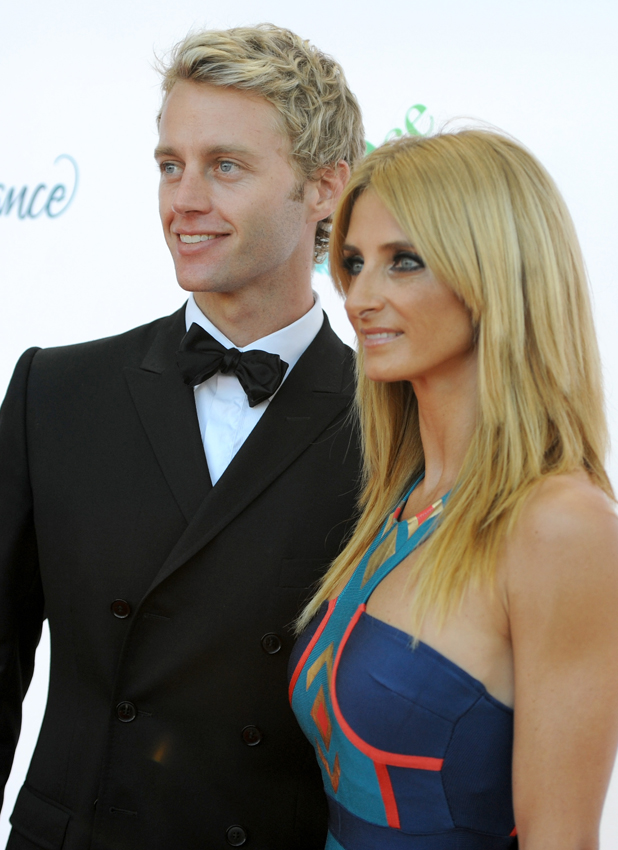 Dancers Trent Whiddon (L) and Gordana Grandosek attend Dizzy Feet Foundation's Celebration Of Dance Gala at The Music Center on July 19, 2014 in Los Angeles, California.