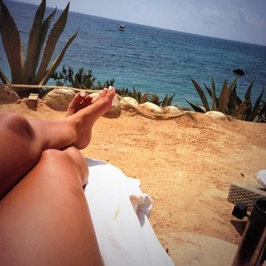 TOWIE's Ferne McCann on holiday in Ibiza, Twitter 12 August