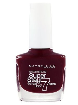 Maybelline Forever Strong Super Stay Gel Nail Color in Midnight Red