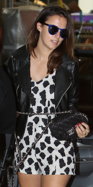 Lucy Watson outside ITV Studios for This Morning appearance, London 11 August